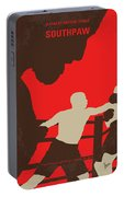 No723 My Southpaw Minimal Movie Poster Portable Battery Charger