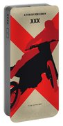 No728 My Xxx Minimal Movie Poster Portable Battery Charger