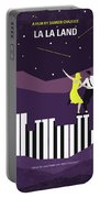 No756 My La La Land Minimal Movie Poster Portable Battery Charger
