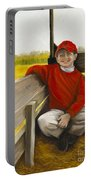 Noah On The Hayride Portable Battery Charger