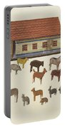 Noah's Ark And Animals Portable Battery Charger