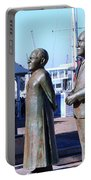 Nobel Square  /  To Honor South Africa's Four Nobel Peace Prize Laureates Portable Battery Charger