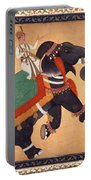 Nobleman Riding Elephant Portable Battery Charger