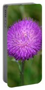 Nodding Thistle Close-up Portable Battery Charger