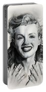 Norma Jean Painting Portable Battery Charger