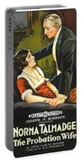Norma Talmadge In The Probation Wife 1919 Portable Battery Charger