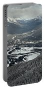Norquay Banff Town Views Portable Battery Charger
