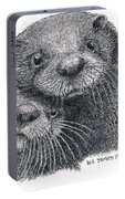 North American River Otters Portable Battery Charger