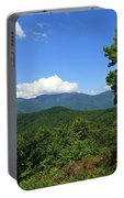 North Carolina Mountains In The Summer Portable Battery Charger