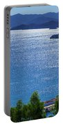 North Coast Of Crete In Bali Portable Battery Charger