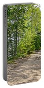 North Country Trail In Pictured Rocks National Lakeshore-michigan  Portable Battery Charger