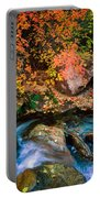 North Creek Fall Foliage Portable Battery Charger