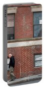 North End, Boston, Massachusetts  -91859 Portable Battery Charger by John Bald