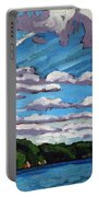 North Shore Stratocumulus Streets Portable Battery Charger