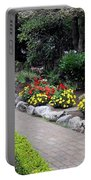 North Vancouver Garden Portable Battery Charger by Will Borden