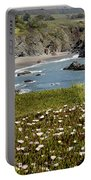Northern California Coast Scene Portable Battery Charger