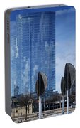 Northwestern Mutual Tower - Milwaukee Wisconsin 2017 Portable Battery Charger