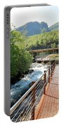 Norwegian Fjord Center In Geiranger Norway Portable Battery Charger