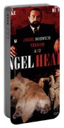 Norwich Terrier Art Canvas Print - Angel Heart Movie Poster Portable Battery Charger