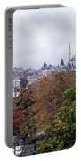 Nostalgia Of The Autumn In Istanbul Portable Battery Charger