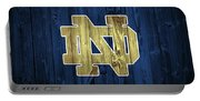 Notre Dame Barn Door Portable Battery Charger