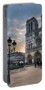 Notre Dame Cathedral Paris 2.0 Portable Battery Charger