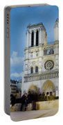 Notre Dame Cathedral Paris 3 Portable Battery Charger
