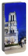 Notre Dame Cathedral Paris 4 Portable Battery Charger