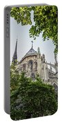 Notre Dame Cathedral - Paris, France Portable Battery Charger