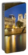 Notre Dame - Paris Night View Portable Battery Charger