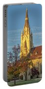 Notre Dame University Basilica Of The Sacred Heart Portable Battery Charger