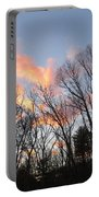 November At Twilight Portable Battery Charger