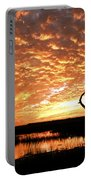 November Evening Portable Battery Charger