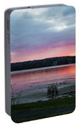 November Sunrise At Esopus Meadows II Portable Battery Charger