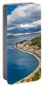 Novigrad Dalmatinski Fishermen Village Bay Portable Battery Charger