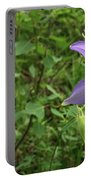 Colorado Columbine On Pikes Peak Colorado Portable Battery Charger