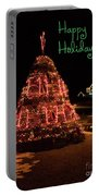Nubble Light - Happy Holidays Portable Battery Charger