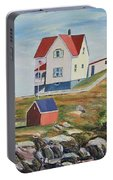 Nubble Light House Maine Portable Battery Charger