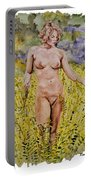 Nude In Field Portable Battery Charger