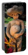 Nude Man Scupture 1 Portable Battery Charger