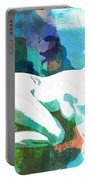 Nude Woman Painting Photographic Print 0031.02 Portable Battery Charger