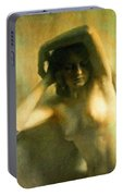 Nude Woman Portable Battery Charger