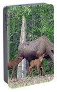 Alaska Nursing Moose Portable Battery Charger