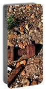 Nuts And Bolts Rusted Portable Battery Charger