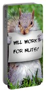 Nutty Squirrel Portable Battery Charger