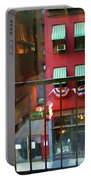 Ny Architecture Paint  Portable Battery Charger
