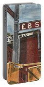 Nyc 8th Street Portable Battery Charger by Debbie DeWitt