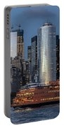 Nyc And Staten Island Ferry Portable Battery Charger