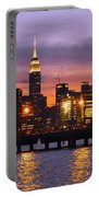 Sunset City Lights Portable Battery Charger