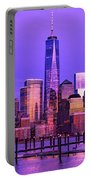 Nyc From Hoboken Portable Battery Charger